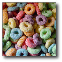 American Extrusion - Fruit Ring Cereal